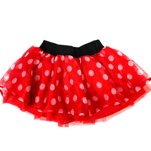 Disney Minnie Mouse Tulle Layered Skirt Red - 4T
